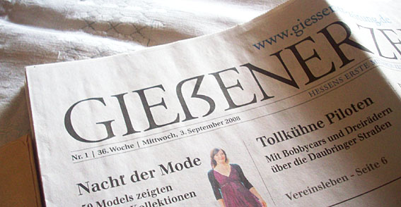 GIEẞERER ZEITUNG
